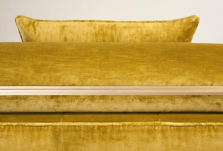 Bespoke Daybed in Brass Golden Sand Finish, by P. Tendercool 5