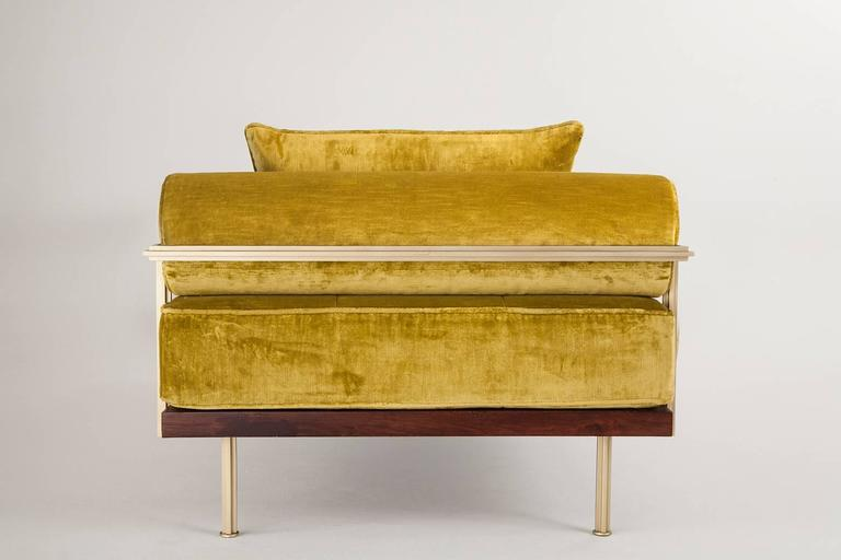 Bespoke Daybed in Brass Golden Sand Finish, by P. Tendercool 4
