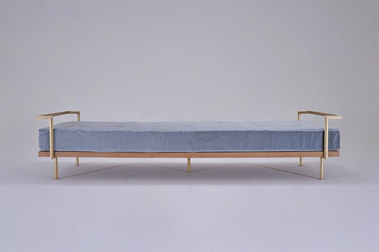 You may have noticed we quite drastically lowered our listed prices for our sofa's and daybeds. We are thrilled to announce we recently opened our PT-lab (see photos). This means we no longer have to outsource the welding of the brass rods. Hence