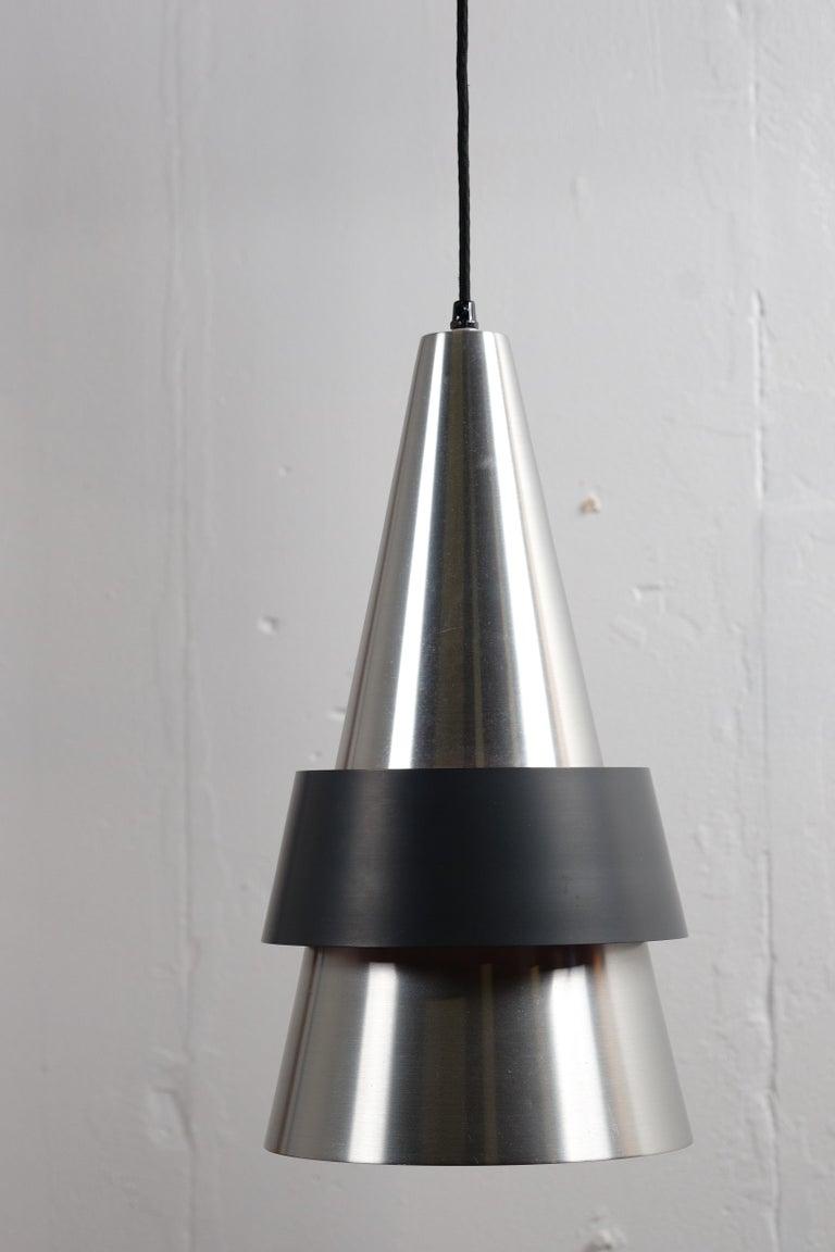 Danish Corona Hanging Lamp by Jo Hammerborg for Fog & Mørup, 1960s For Sale