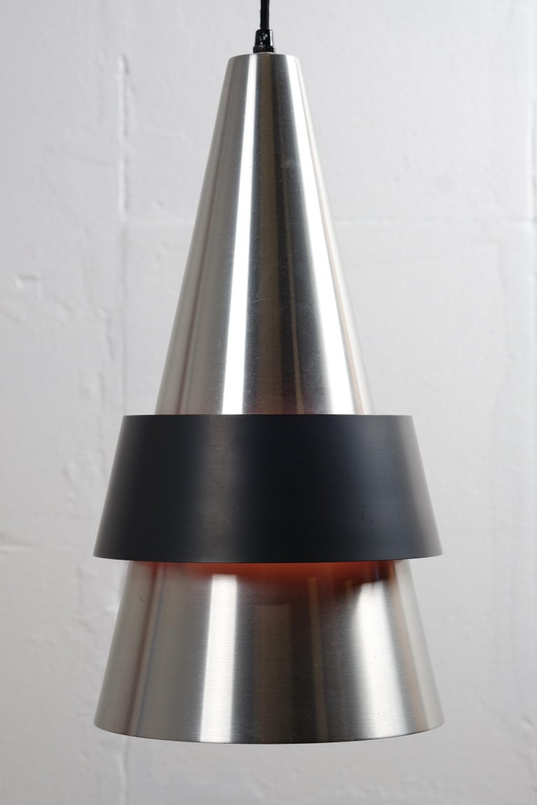 Mid-20th Century Corona Hanging Lamp by Jo Hammerborg for Fog & Mørup, 1960s For Sale