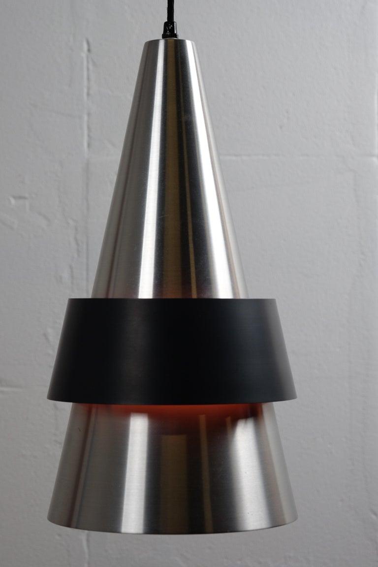 Corona Hanging Lamp by Jo Hammerborg for Fog & Mørup, 1960s For Sale 1