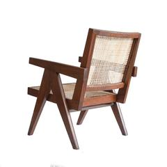 A pair of Pierre Jeanneret Easy Cane Chairs for Chandigarh PJ-SI-29-A