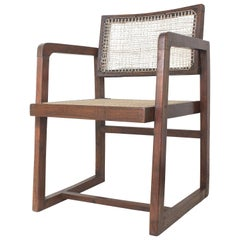 Pierre Jeanneret Box Chair with Cane from Chandigarh PJ-SI-53-A