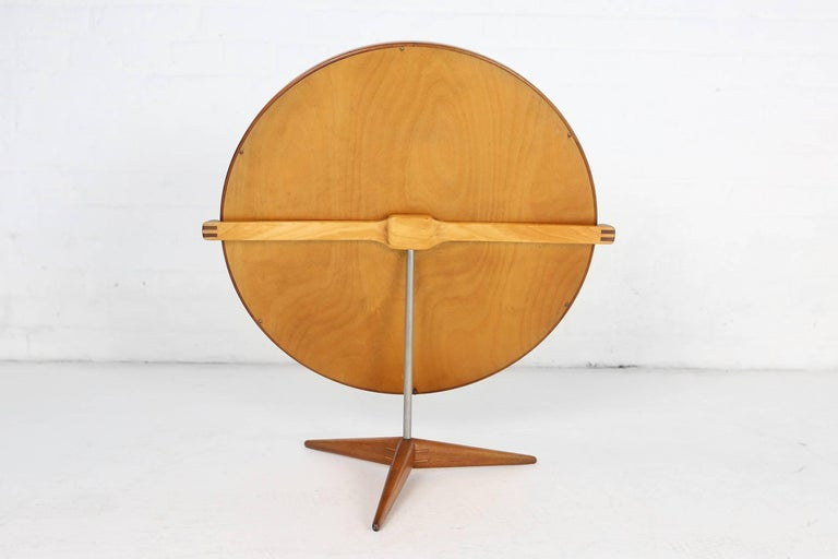 Mid-Century Modern Uno & Osten Kristiansson Table Mirror Produced by Luxus in Sweden For Sale