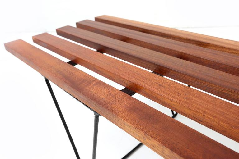 Slatted Bench Robin Day For Hille 1950s For Sale At 1stdibs