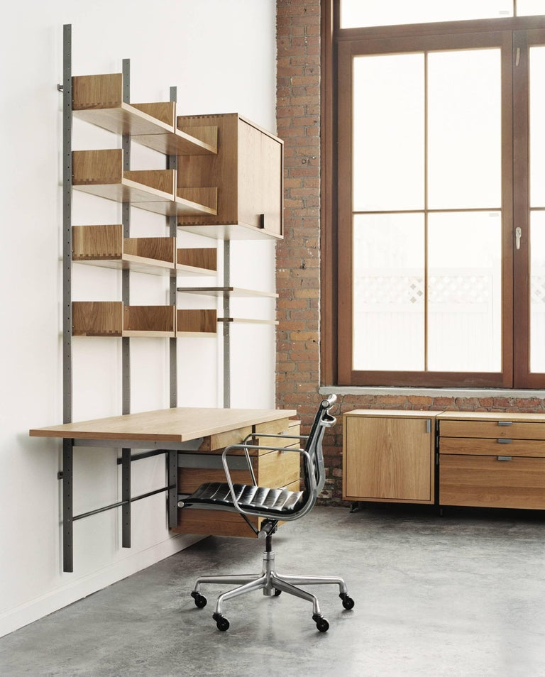 AS4 Modular Wall-Mounted Shelving System