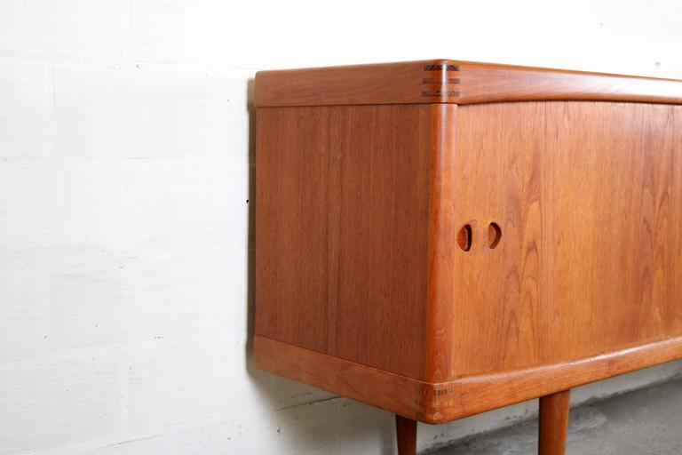 sideboard by h w klein for bramin at 1stdibs. Black Bedroom Furniture Sets. Home Design Ideas