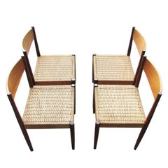 1960 Teak Dining Chairs Sigh & Søn, Set of Four