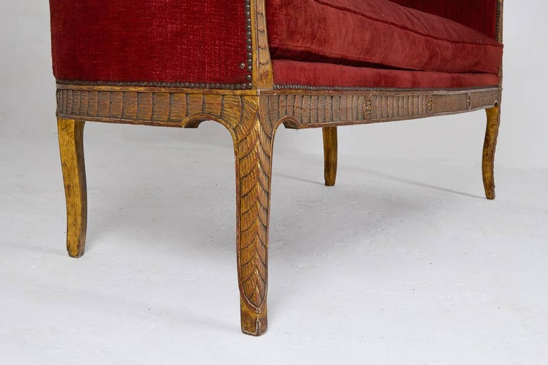 Rare 18th Century Italian Sofa For Sale 1