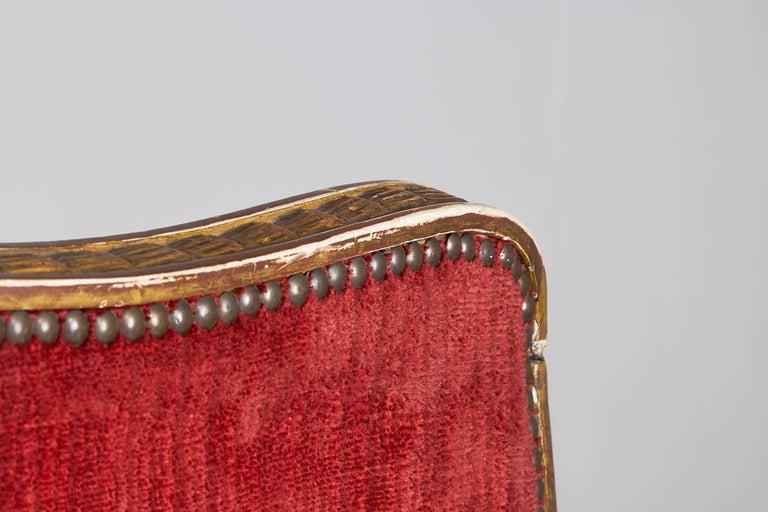 Rare 18th Century Italian Sofa For Sale 8