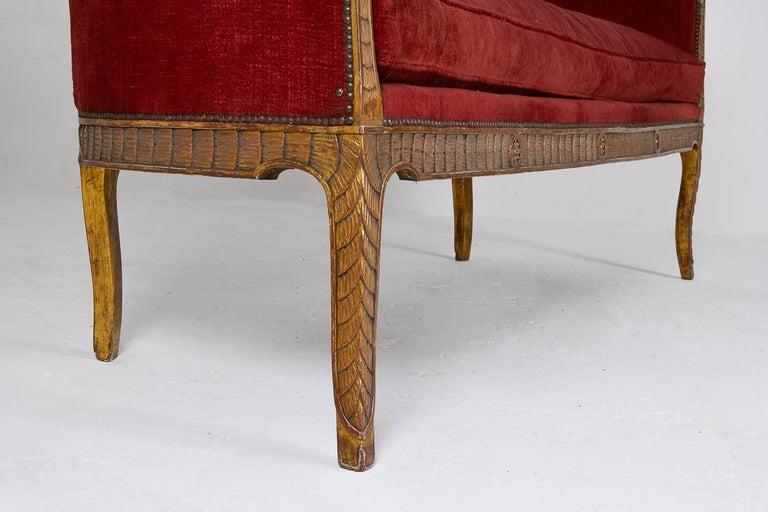 Rare 18th Century Italian Sofa For Sale 11