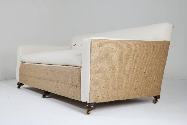 Large Early 20th Century English Sofa For Sale 4