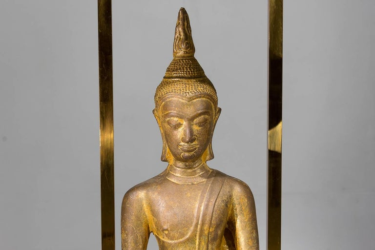 French 1960s Buddha Lamp For Sale