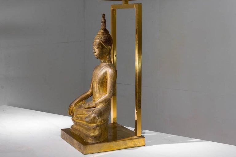 20th Century 1960s Buddha Lamp For Sale