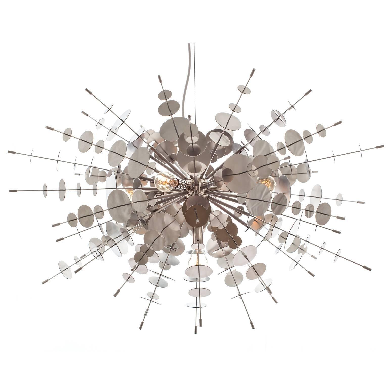 Metallic Confetti Chandelier by AVRAM RUSU STUDIO