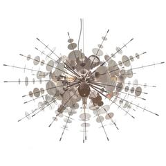 Metallic Confetti Chandelier by AVRAM RUSU STUDIO