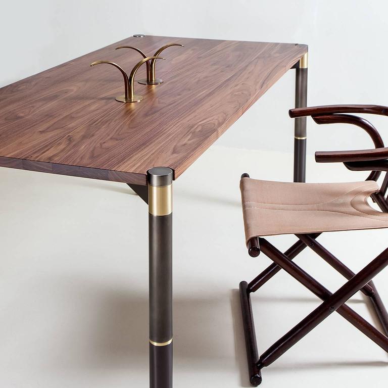 Modern Nova Small Dining Table or Desk by AVRAM RUSU STUDIO For Sale