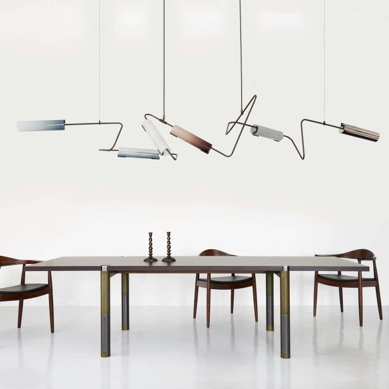 Modern Nova Large Dining Table by AVRAM RUSU STUDIO For Sale