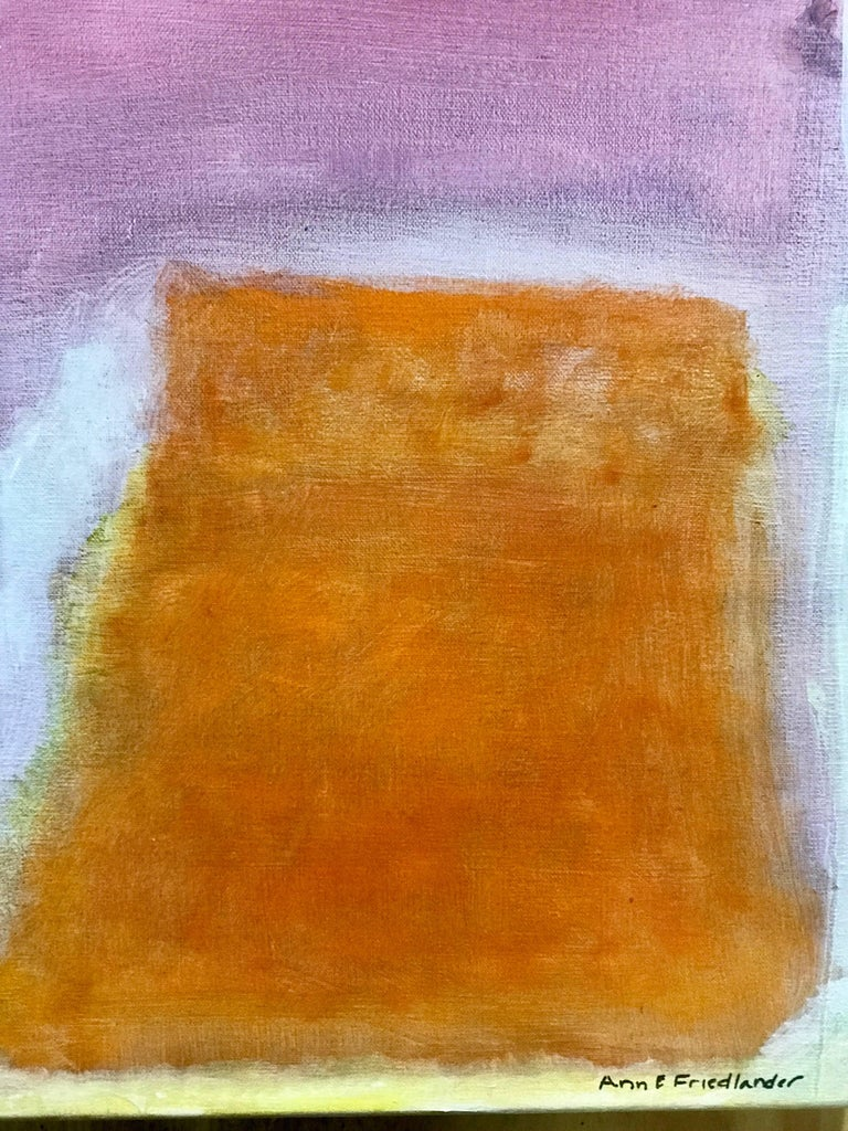 Contemporary Ann E. Friedlander, Untitled I Oil on Canvas For Sale