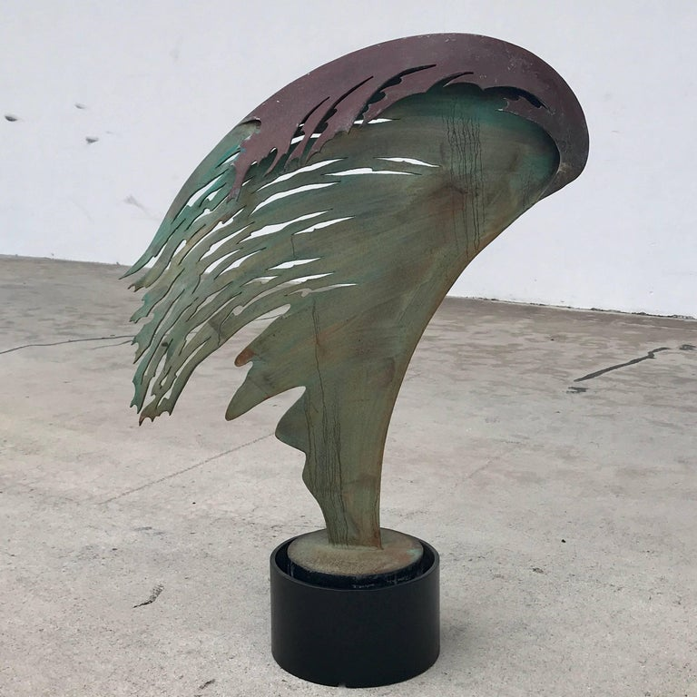 Midcentury Angel Wing Sculpture  For Sale 1