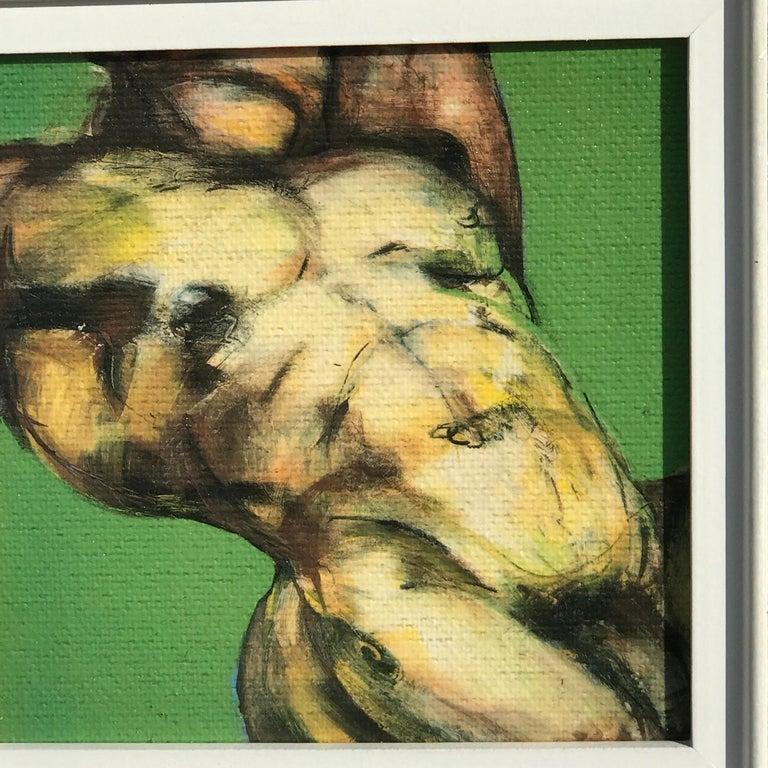 Two Diminutive Giclee Male Nude Studies by Johanne Corno For Sale 2