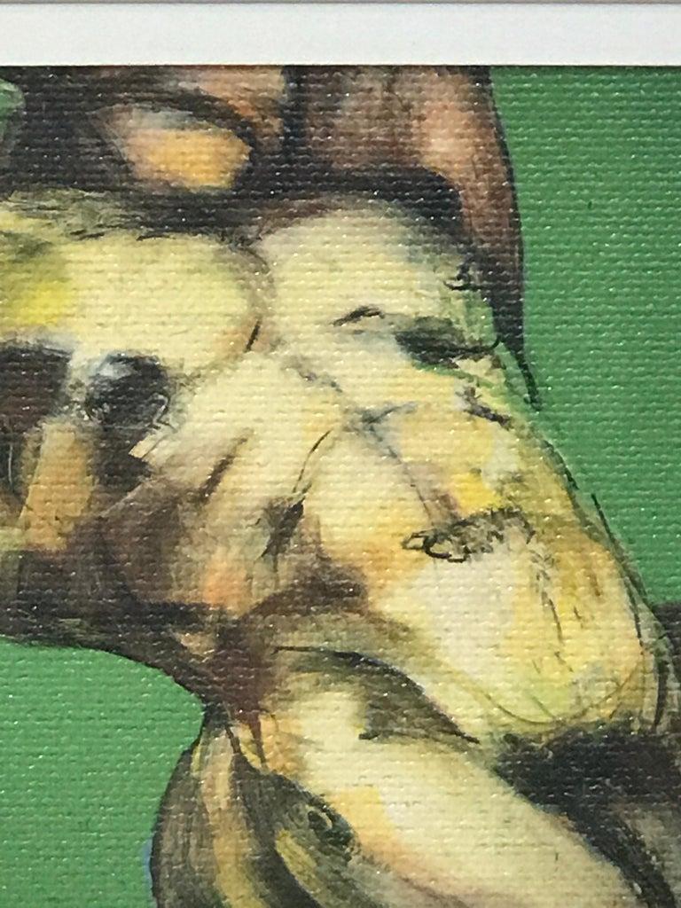Two Diminutive Giclee Male Nude Studies by Johanne Corno For Sale 3