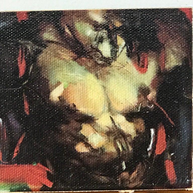 Two Diminutive Giclee Male Nude Studies by Johanne Corno For Sale 10