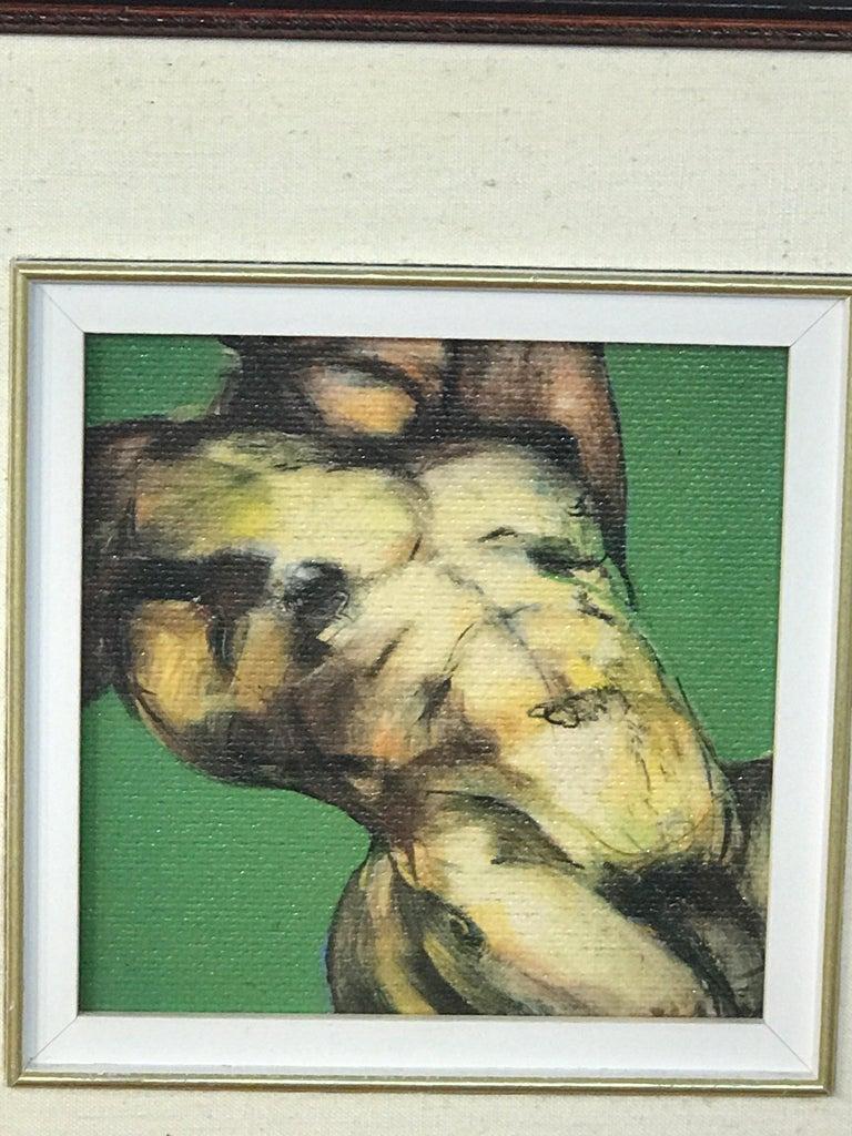 Two Diminutive Giclee Male Nude Studies by Johanne Corno For Sale 12