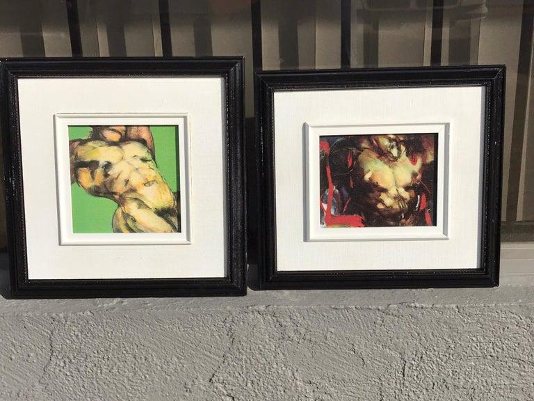 Two Diminutive Giclee Male Nude Studies by Johanne Corno For Sale 13