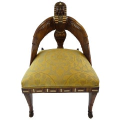 19th Century English Egyptian Revival Chair