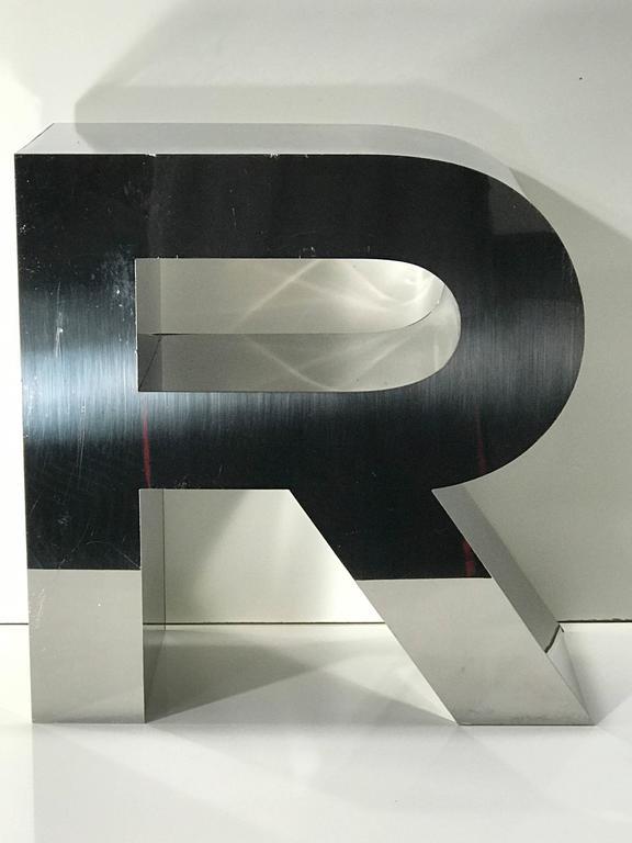 Vintage Ralph Lauren Logo Letters At 1stdibs