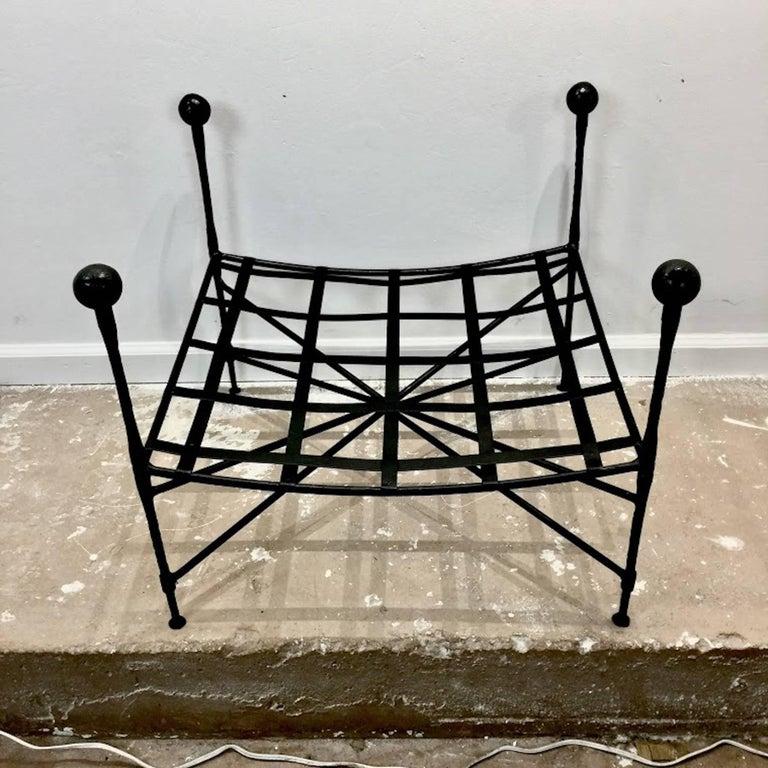 Mario Papperzini For Salterini Italian Wrought Iron