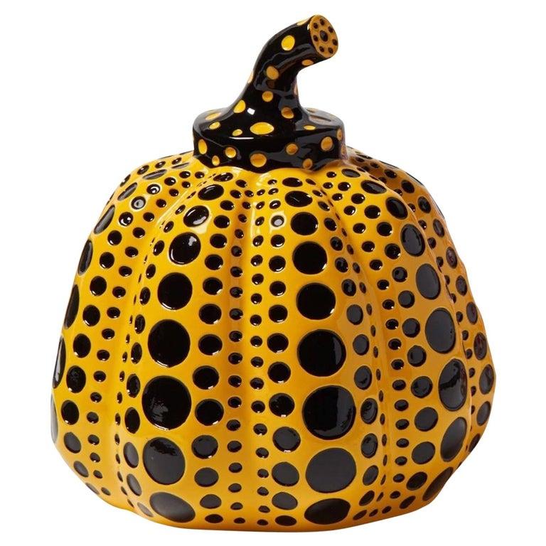 Yayoi Kusama, Yellow and Black Pumpkin, Miniature of the 1972, Original