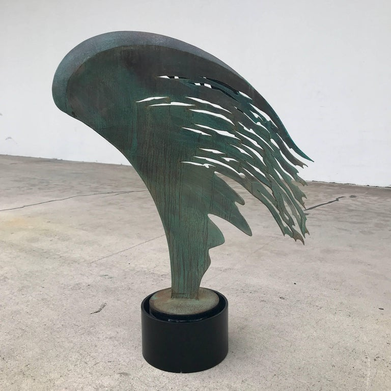 Midcentury Angel Wing Sculpture  For Sale 6