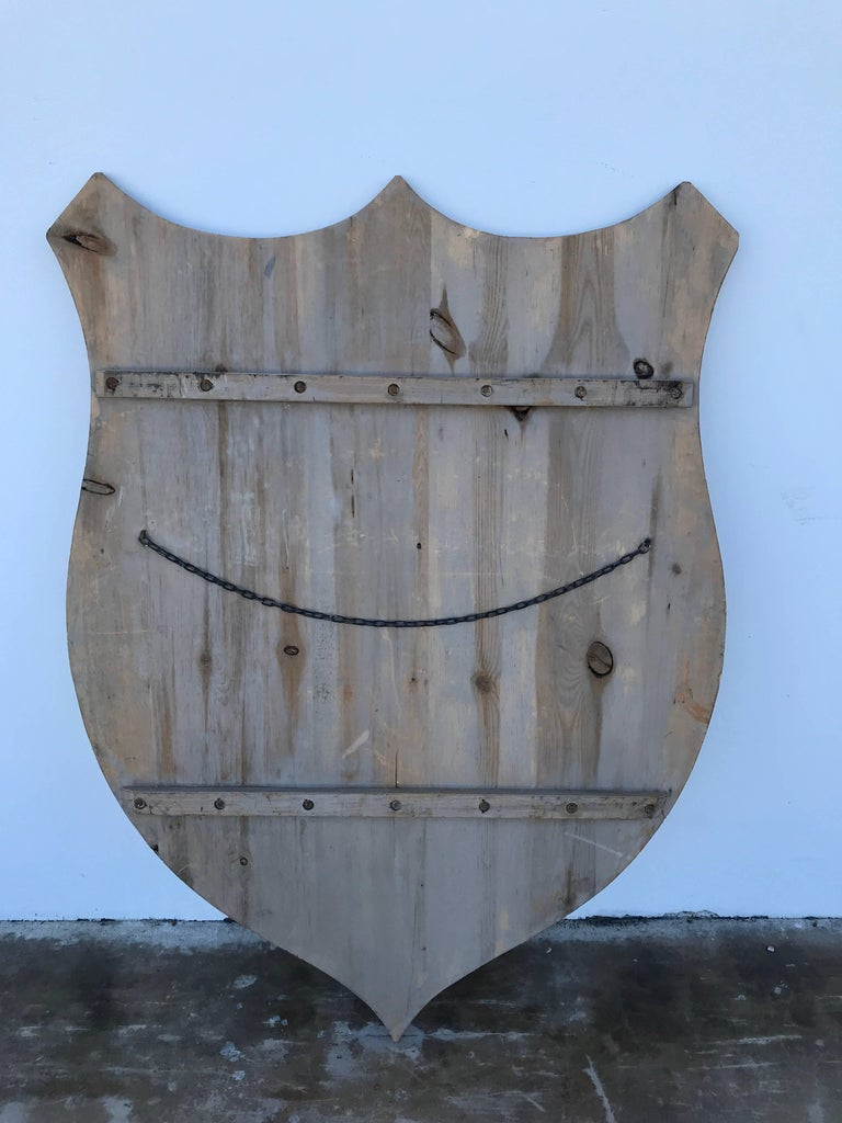 American Folk Art Flag Shield or Sign with Nine Stars For Sale 5