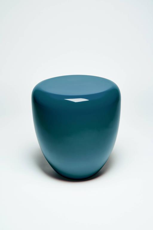 Dot, Side Table or Stool, Peacock Blue,  by Reda Amalou Design, 21st Century 2