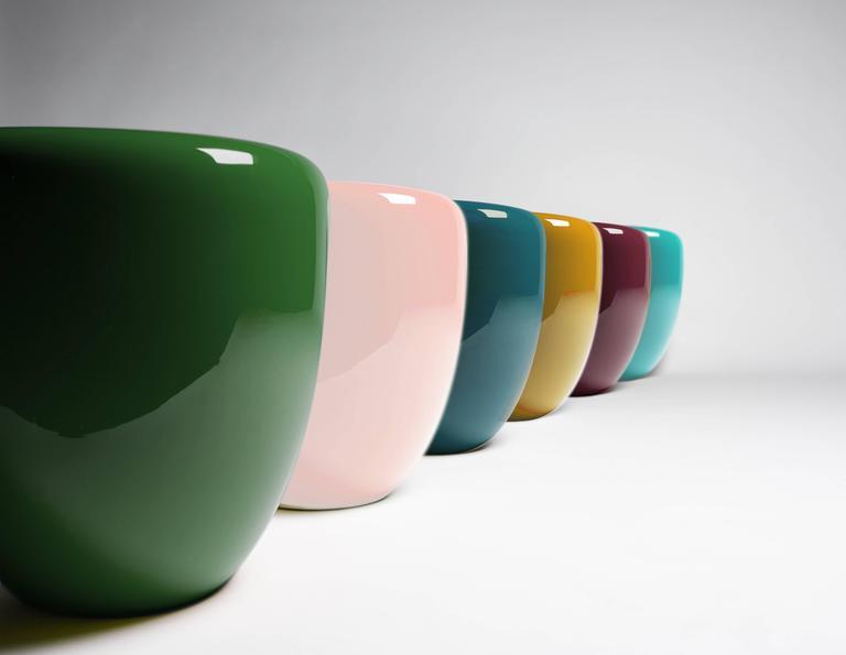 Dot, Side Table or Stool. Deep Garnet, by Reda Amalou Design, 21st Century 3