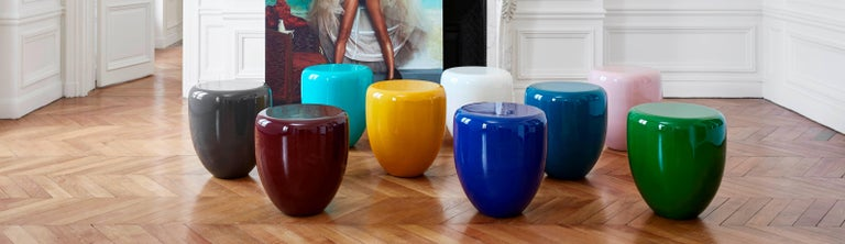 Dot, Side Table or Stool. Deep Garnet, by Reda Amalou Design, 21st Century 4