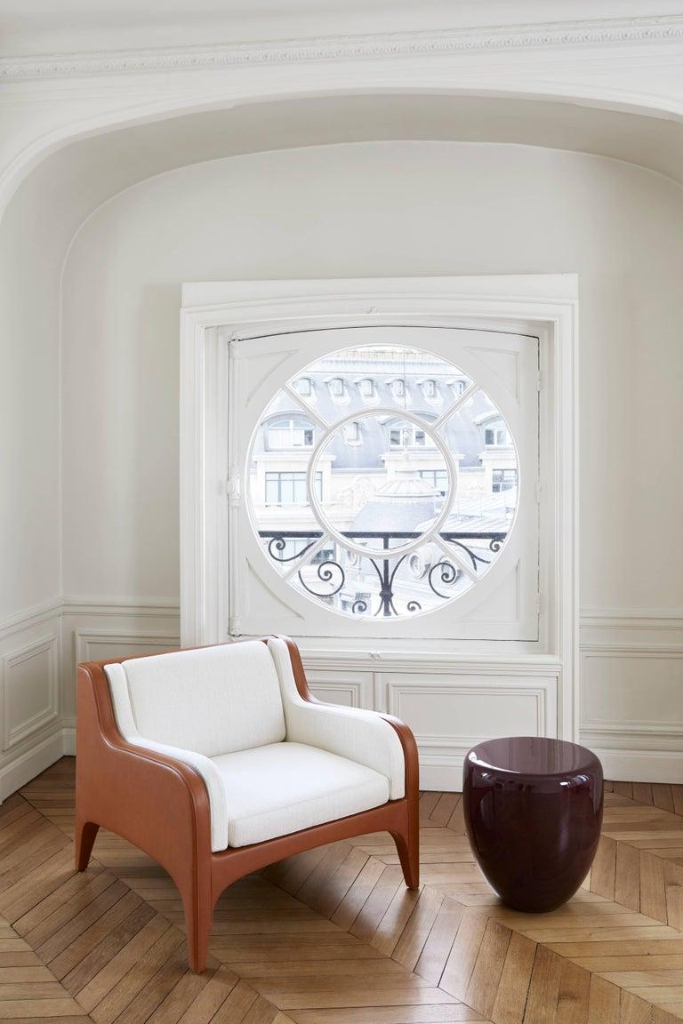 Dot, Side Table or Stool. Deep Garnet, by Reda Amalou Design, 21st Century 9