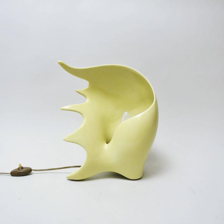 Conchiglia Ceramic Lamp by Antonia Campi 9