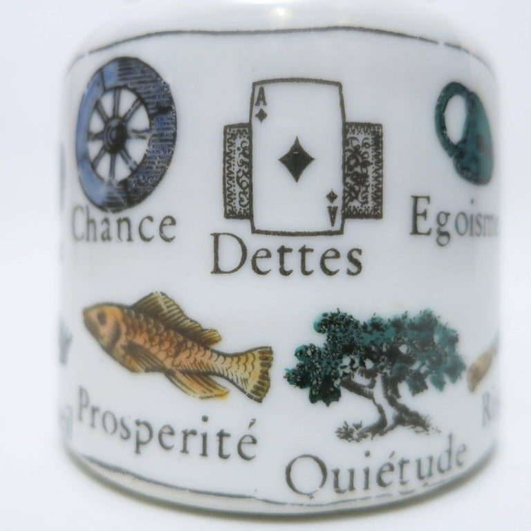 Mid-Century Modern Paperweight Clé Des Songes by Piero Fornasetti  For Sale