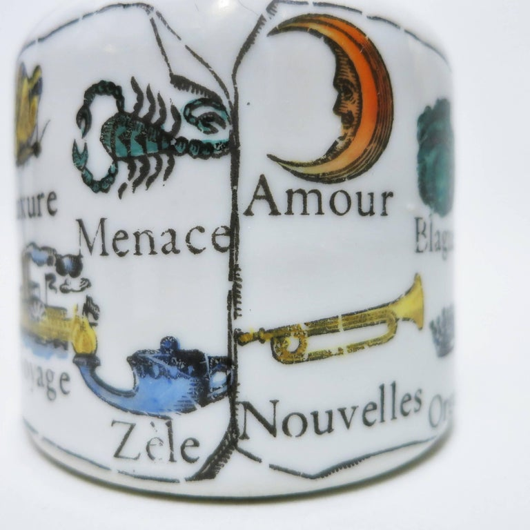 Mid-20th Century Paperweight Clé Des Songes by Piero Fornasetti  For Sale