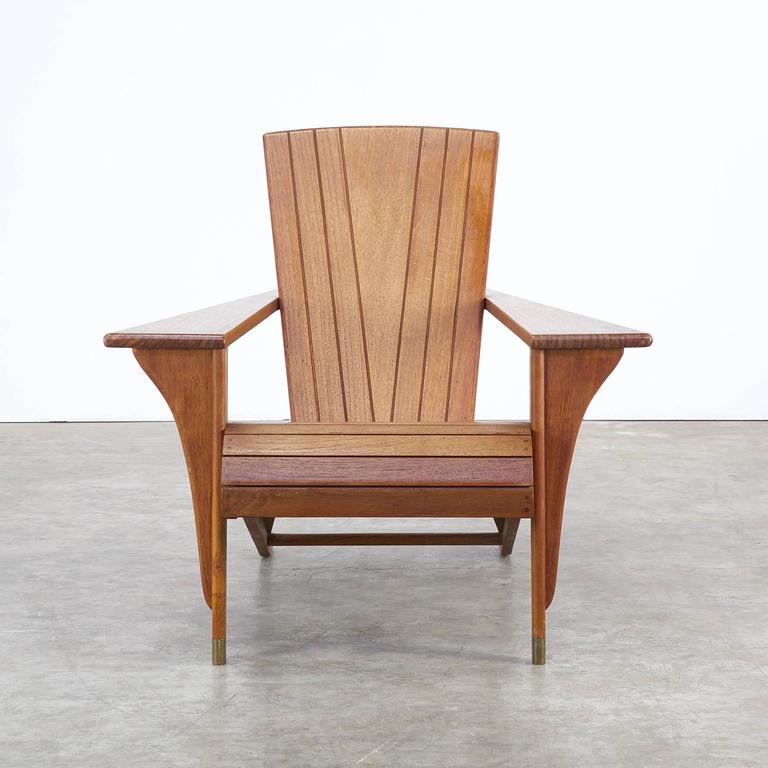1980s Deck 'Meditation' Chair Attributed To Klaus