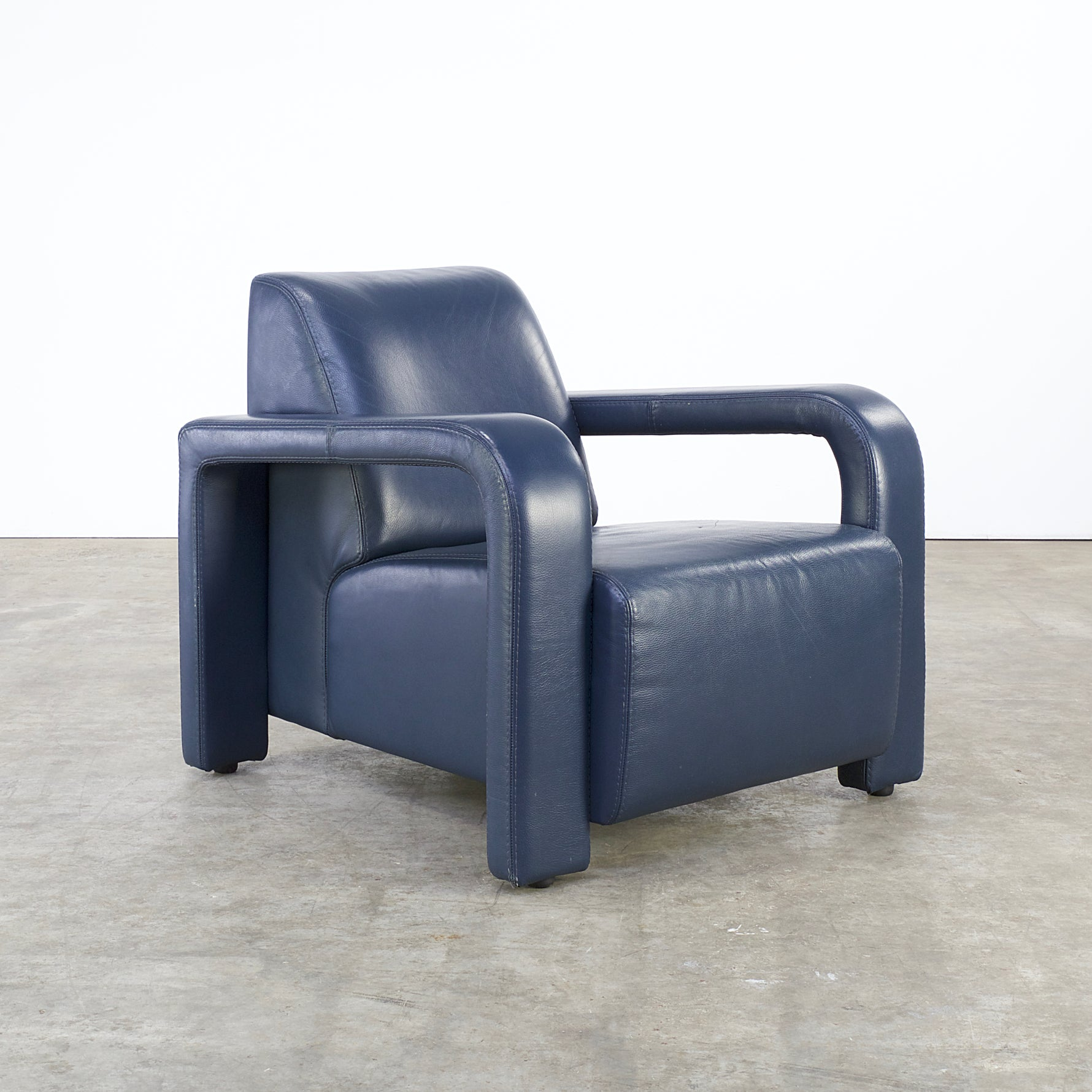 Lounge Stoel Retro.80s Lounge Chair For Marinelli Italy For Sale At 1stdibs