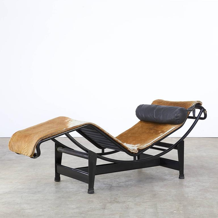 le corbusier pierre jeanneret and charlotte perriand lc4 pony skin