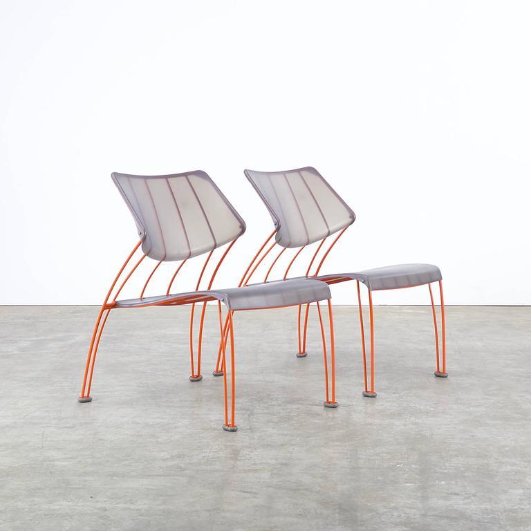 1990s Monika Mulder 'PS Hasslo' Chairs for Ikea In Good Condition In Amstelveen, Noord