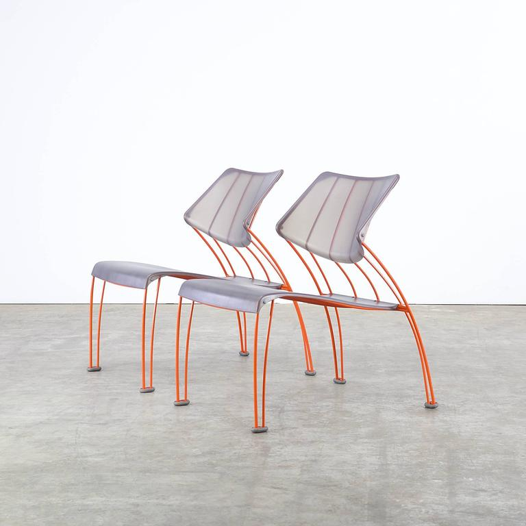 Mid-Century Modern 1990s Monika Mulder 'PS Hasslo' Chairs for Ikea