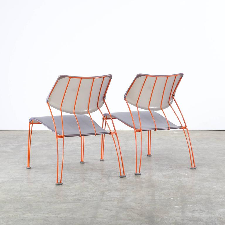 Late 20th Century 1990s Monika Mulder 'PS Hasslo' Chairs for Ikea