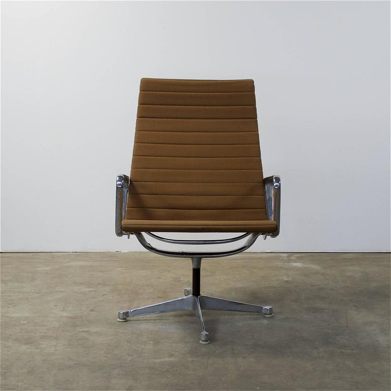 1950s eames ea116 lounge chair for herman miller for sale for Fauteuil eames original